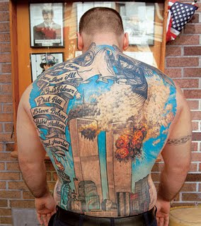 Firefighter Tattoos, September 11 2001