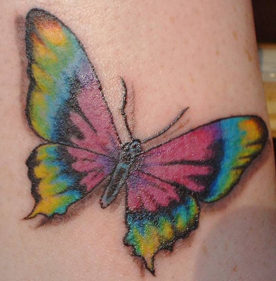 Japanese Butterfly Tattoos