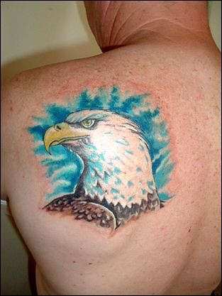 I have found that I believe are great depictions of a good eagle tattoo.