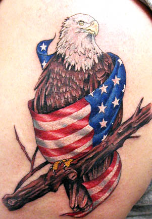 Patriot Eagle Tattoos