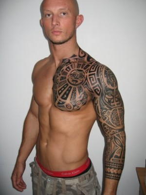 Polynesian Tattoo Inspired By Dwayne Johnson · Tribal Dragon Tattoo Stencils