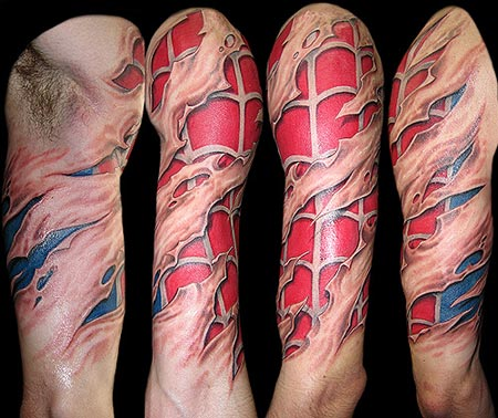There are other Spider-Man tattoos that